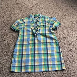 Ralph Lauren Children's plaid dress